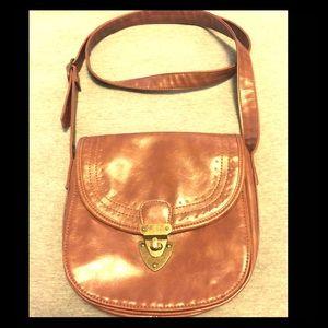 Vintage Inspired Crossbody Bag w| Built in Wallet