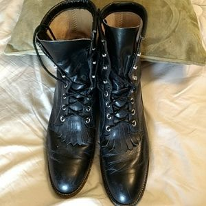 Justin Boots Shoes - Justin Black boots