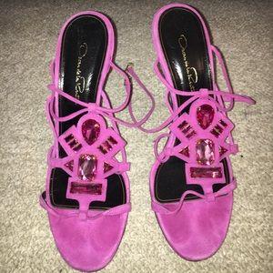 Oscar de la Renta Shoes - Oscar De La Renta embellished sandal
