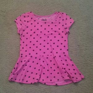 Circo Other - Girl's peplum shirt