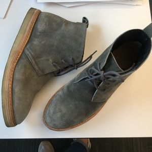 Clarks originals booties size 9.5