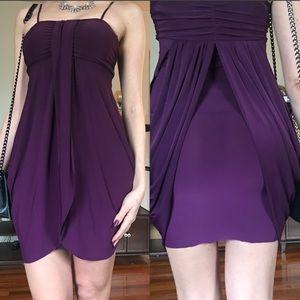 Un Deux Trois Dresses & Skirts - Lovely purple mini cocktail dress