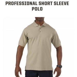 5.11 Tactical Other - Men's 5.11 Tactical Series tan Polo-size Large