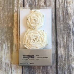 David's Bridal Accessories - Bridal floral sash