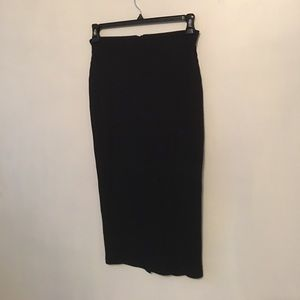 Rubbed Pencil skirt