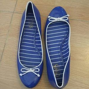 Chaps Shoes - Blue flats!