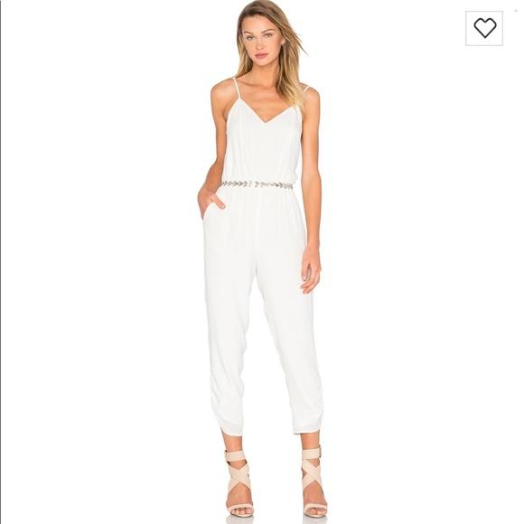 2e1e2669ec5 Lovers + Friends Pants - Lovers + Friends White Farrah Jumpsuit