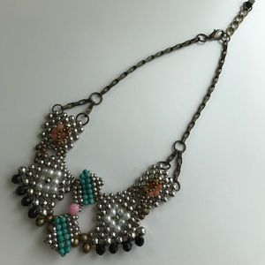 🌺 Anthropologie • Beaded necklace