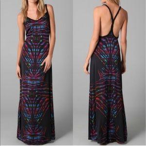 Mara Hoffman silk Razorback Maxi Dress 