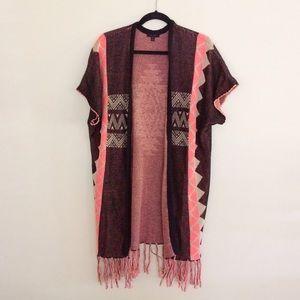 Urban Outfitters Sweaters - BOHO fringe sweater tunic