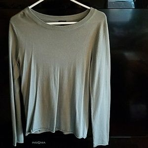 Mossimo Supply Co Tops - Light weight sweater, size L, color bluish/grey