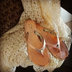 Shoes - Golden Rose, blush sandals shoes