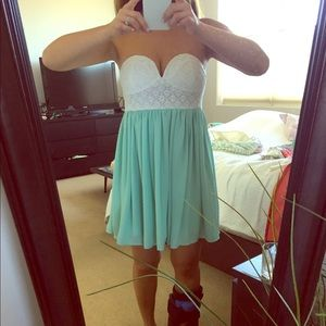 Spool 72 Dresses & Skirts - Boutique Summer Dress-Mint/White-XS/Small