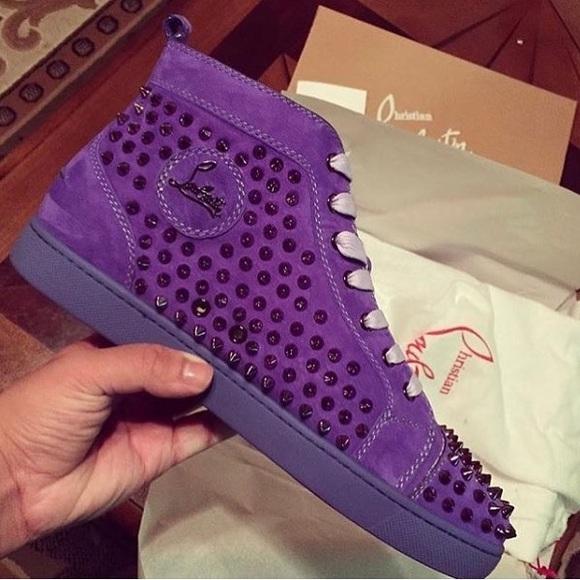 Christian Louboutin Shoes | Purple