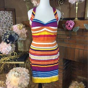 Calvin Klein Collection Dresses & Skirts - Calvin Klein halter cross strap dress