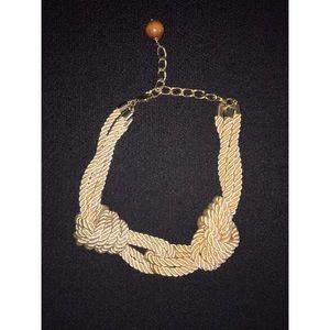 Jewelry - Cream Rope Necklace