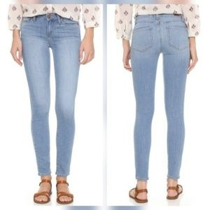 Paige Jeans Denim - Paige Verdugo Ankle Skinny Jeans in Bevin
