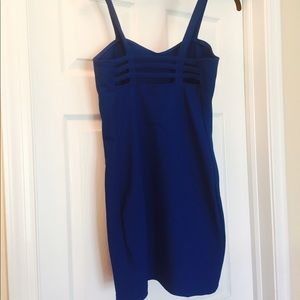 Adorable cobalt blue dress, Size Medium