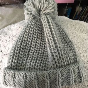 Gray beanie never worn