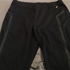 Calvin Klein Pants - Leather Lined Leggings