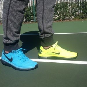 nike Other - Nike Free Trainer 3.0. Two colors in one pair!!!!