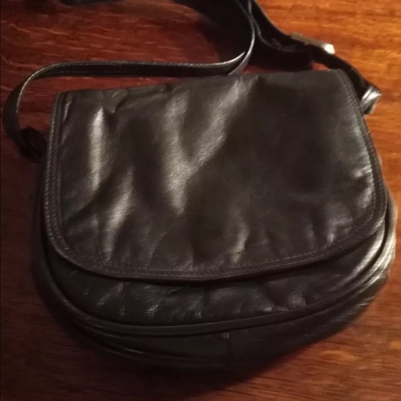 c61a3d3ced TULA Bags | Small Black Handbag Leather | Poshmark