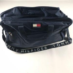 Tommy Hilfiger Other - Vintage Tommy Hilfiger Big Logo Duffel Bag Blue