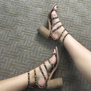 Jeffrey Campbell Shoes - Jeffrey Campbell leopard sandals