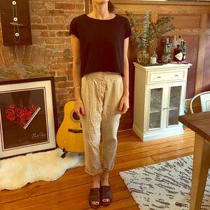 Topshop PETITE Pants - Topshop Khaki Trousers