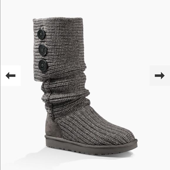 ugg shoes flash sale womens classic cardy boots poshmark rh poshmark com