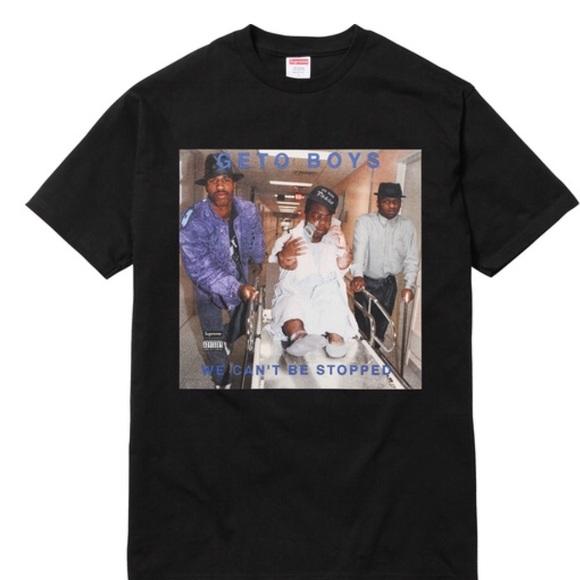 70264e16cf3 NWT Supreme Rap A Lot Records Geto Boys Tee