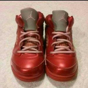 Jordan Retro 5 GG Valentines Day