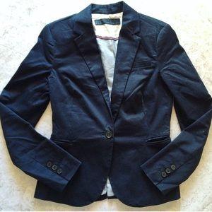 Zara Jackets & Blazers - Zara Tailored Navy Blazer