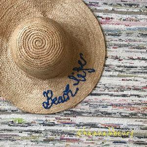 """""""Beach Life"""" Beach Hat"""