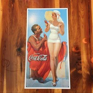 Coca-Cola Other - Metal Coca-Cola Sign