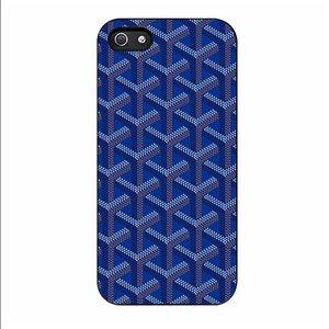 Goyard Accessories - Goyard royal blue iPhone 6 Plus case