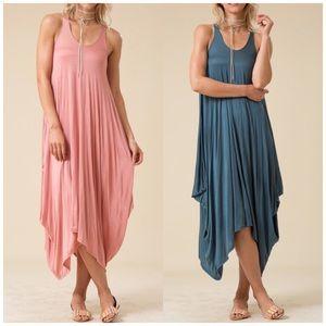 Bchic Dresses & Skirts - Dusty Jade Sleeveless Harlem Dress
