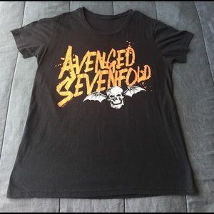 Hot Topic Tops - Avenged Sevenfold Tee Shirt