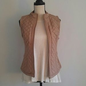 Laura Scott Jackets & Blazers - light weight quilted vest