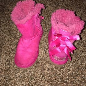 UGG Other - Uggs boots pink size 4 girls