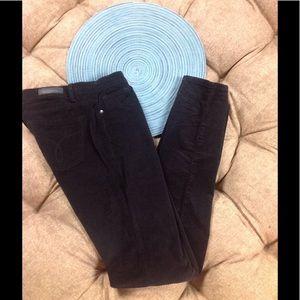 Calvin Klein Jeans Corduroy Black 8 Skinny Cotton