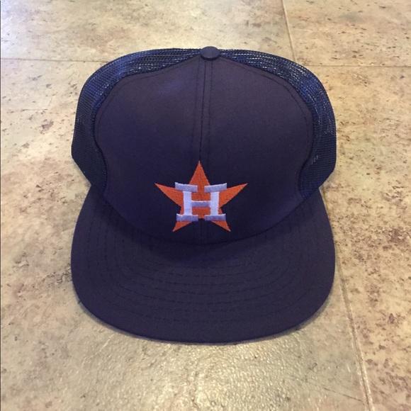 c84be64b Vintage Accessories | Bnwt Houston Astros Mesh Back Snapback | Poshmark