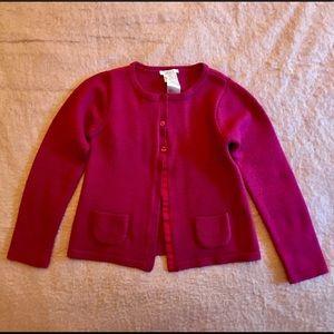 Jacadi Other - Jacadi Paris Raspberry Cardigan Sweater