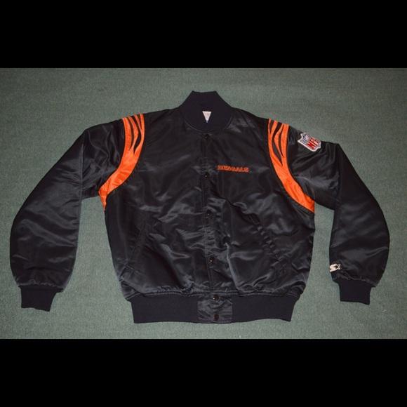 cbbfe499 Cincinnati Bengals Vintage Starter Jacket 90s Era