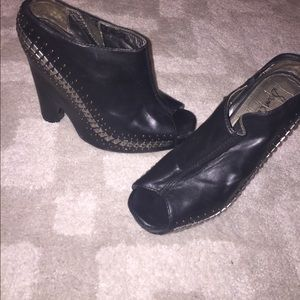 Sam Edelman studded platform shoes