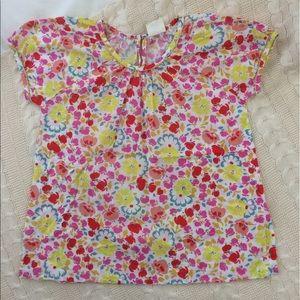 Mini Boden Other - Mini Boden Floral Blouse 11-12 NWOT