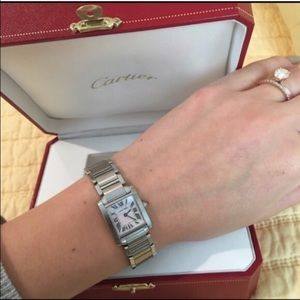 Cartier Accessories - 💜authentic Cartier pink face tank Francaise
