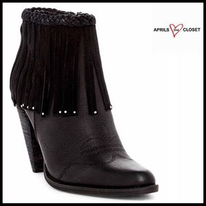 Volatile Shoes - FRINGE BOOTS Ankle Booties