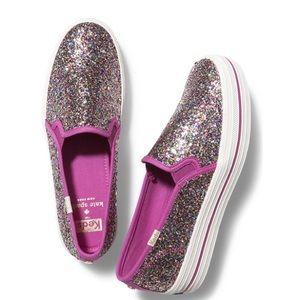 Kate Spade Glitter Keds sneakers