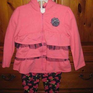 Nannette Other - NWT 3pc GIRLS pink set by NANNETTE sz6X
